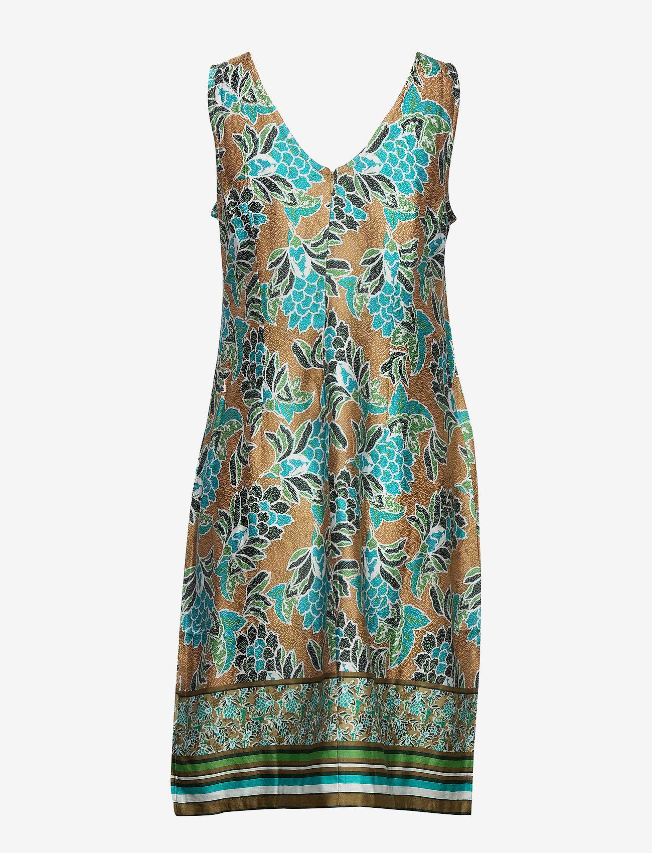 Cream - BahiaCR Dress - krótkie sukienki - green moss