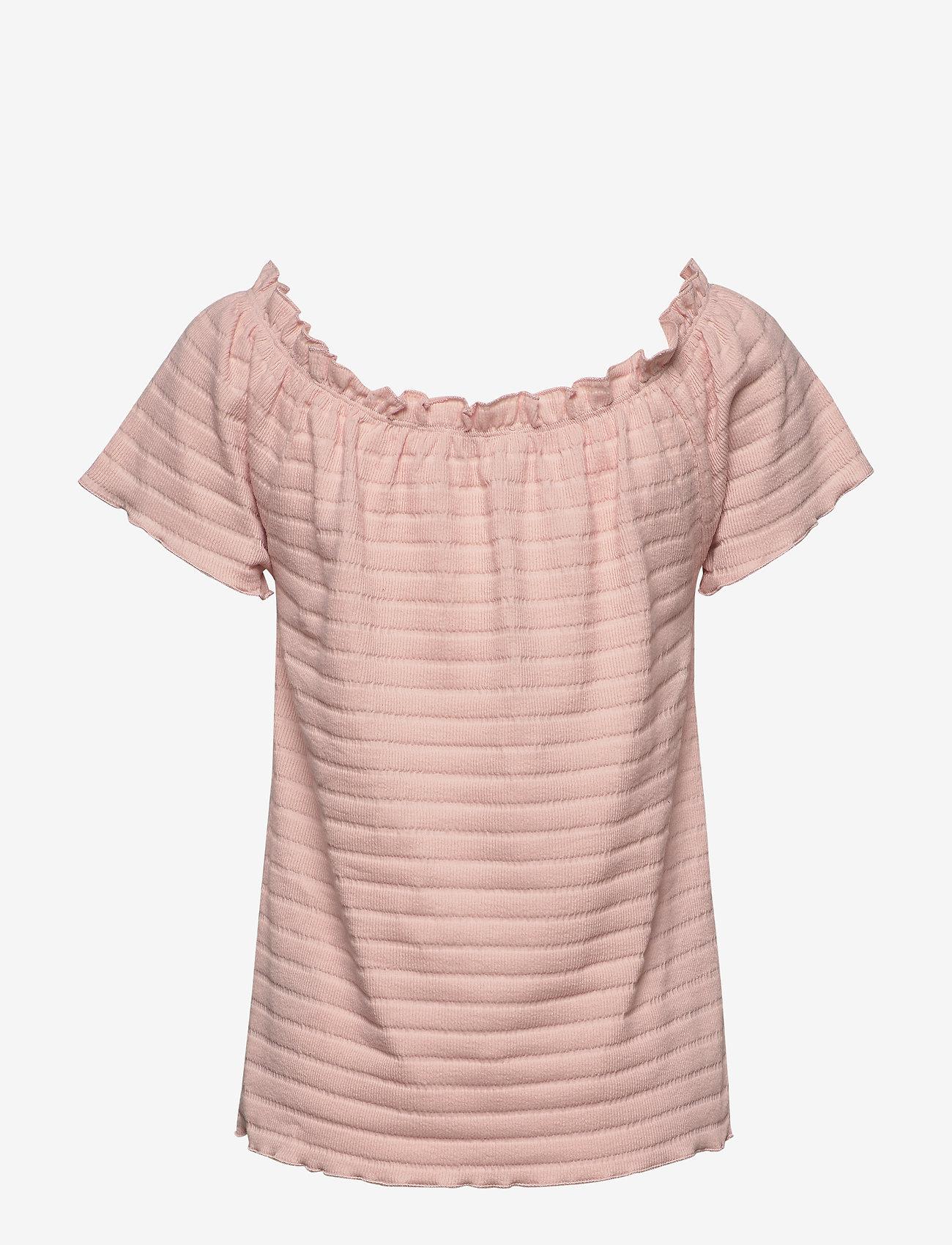 Cream - ToriCR T-shirt - t-shirts - spring pink