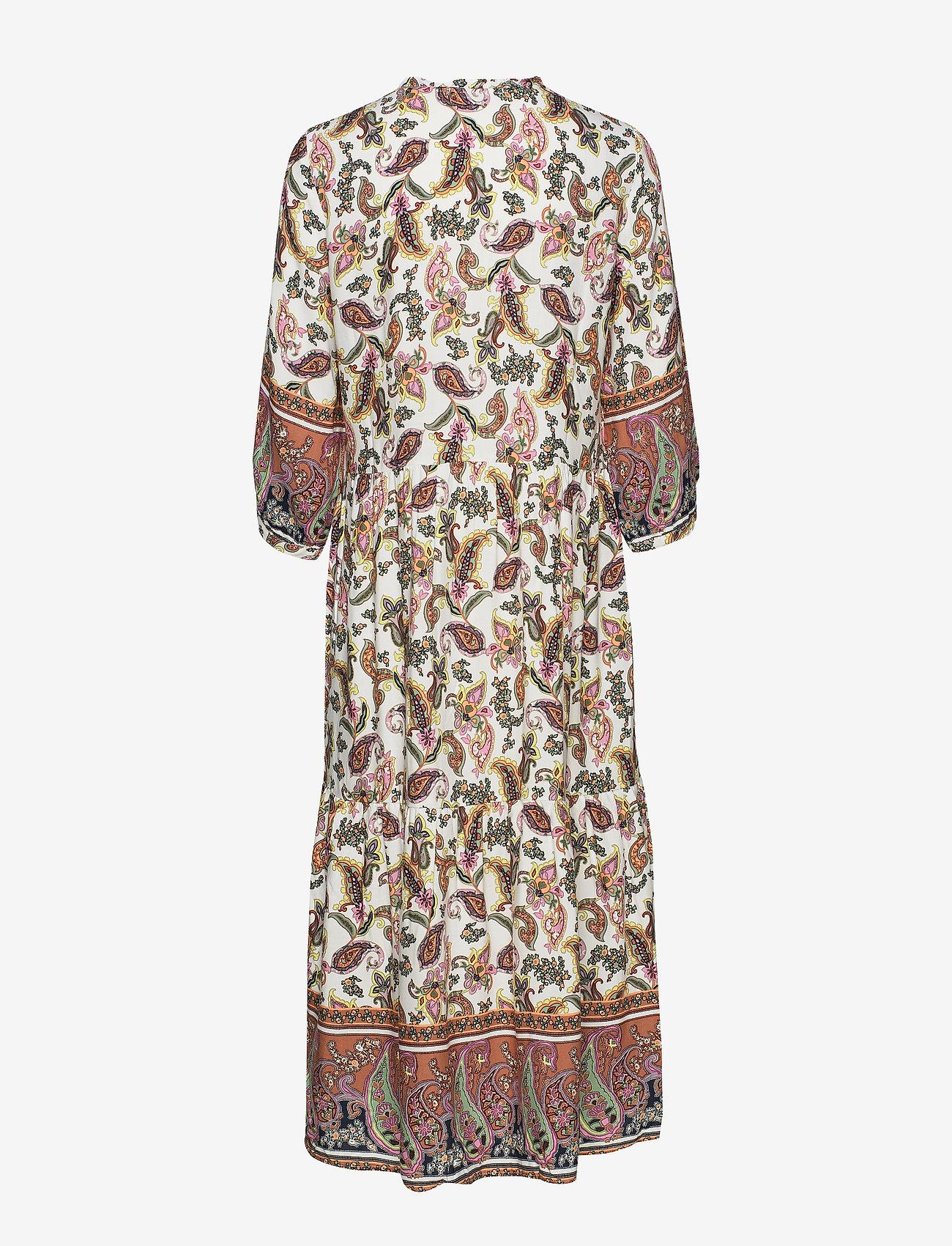 Cream Adajecr Dress - Dresses