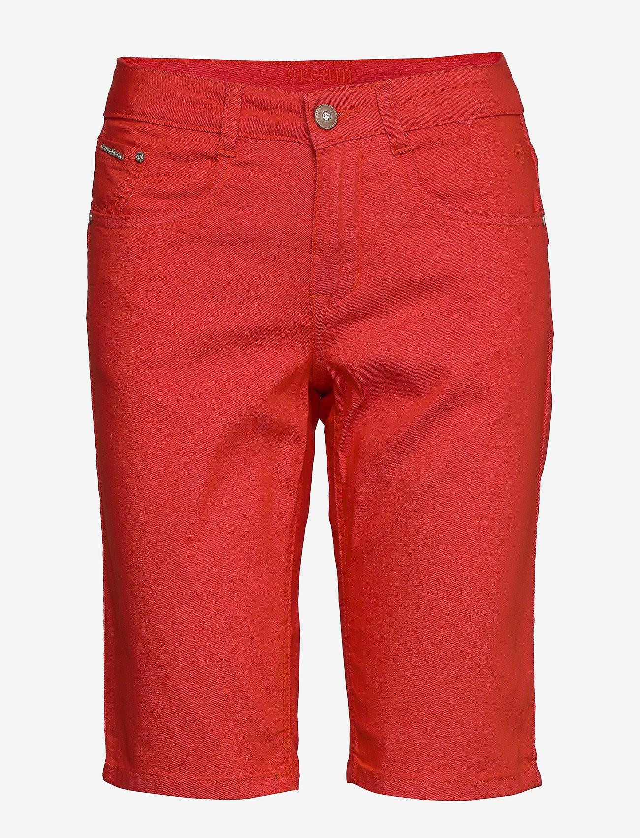 Cream - VavaCR Shorts - Coco Fit - bermuda-shortsit - aurora red - 0
