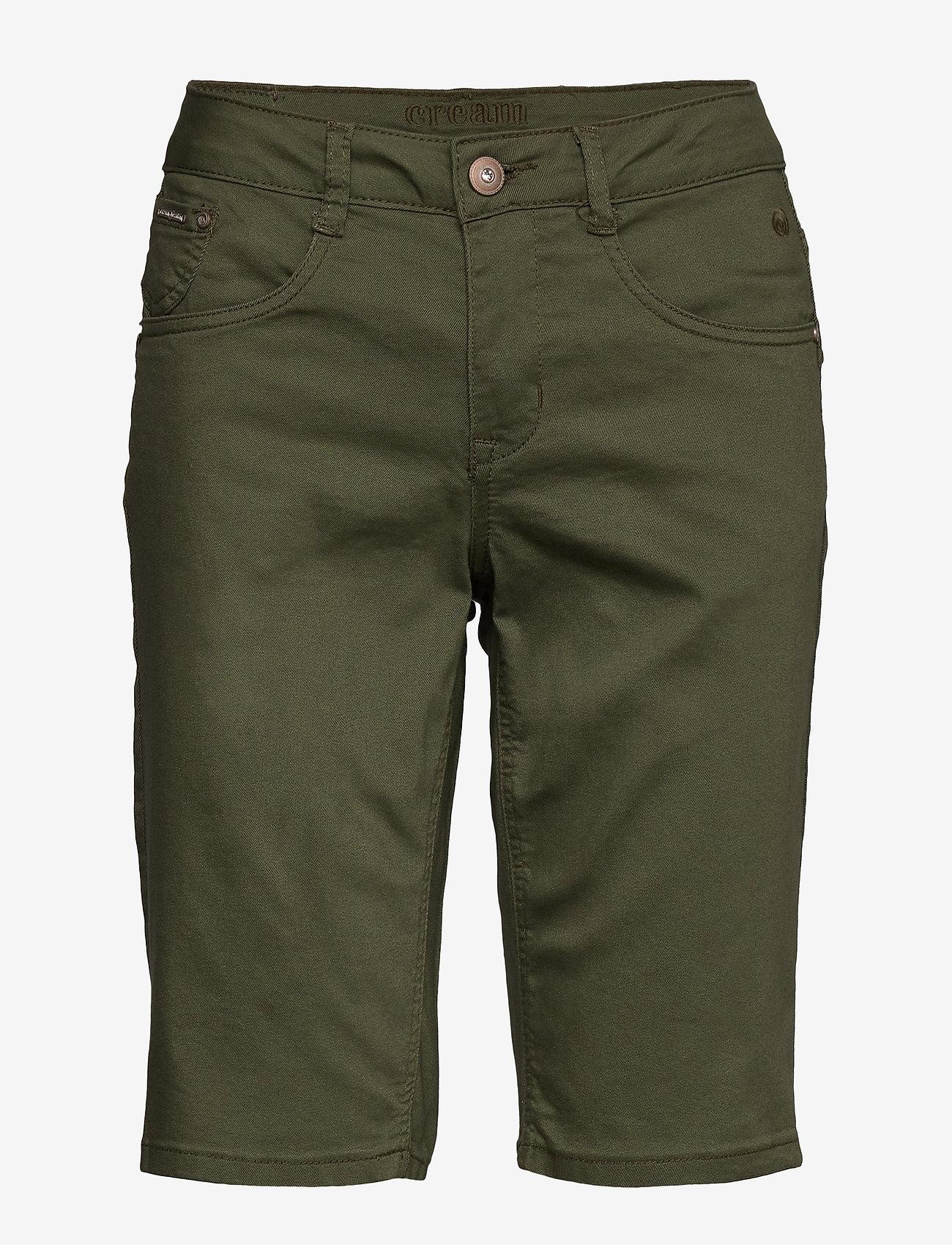 Cream - VavaCR Shorts - Coco Fit - bermudas - burnt olive - 0