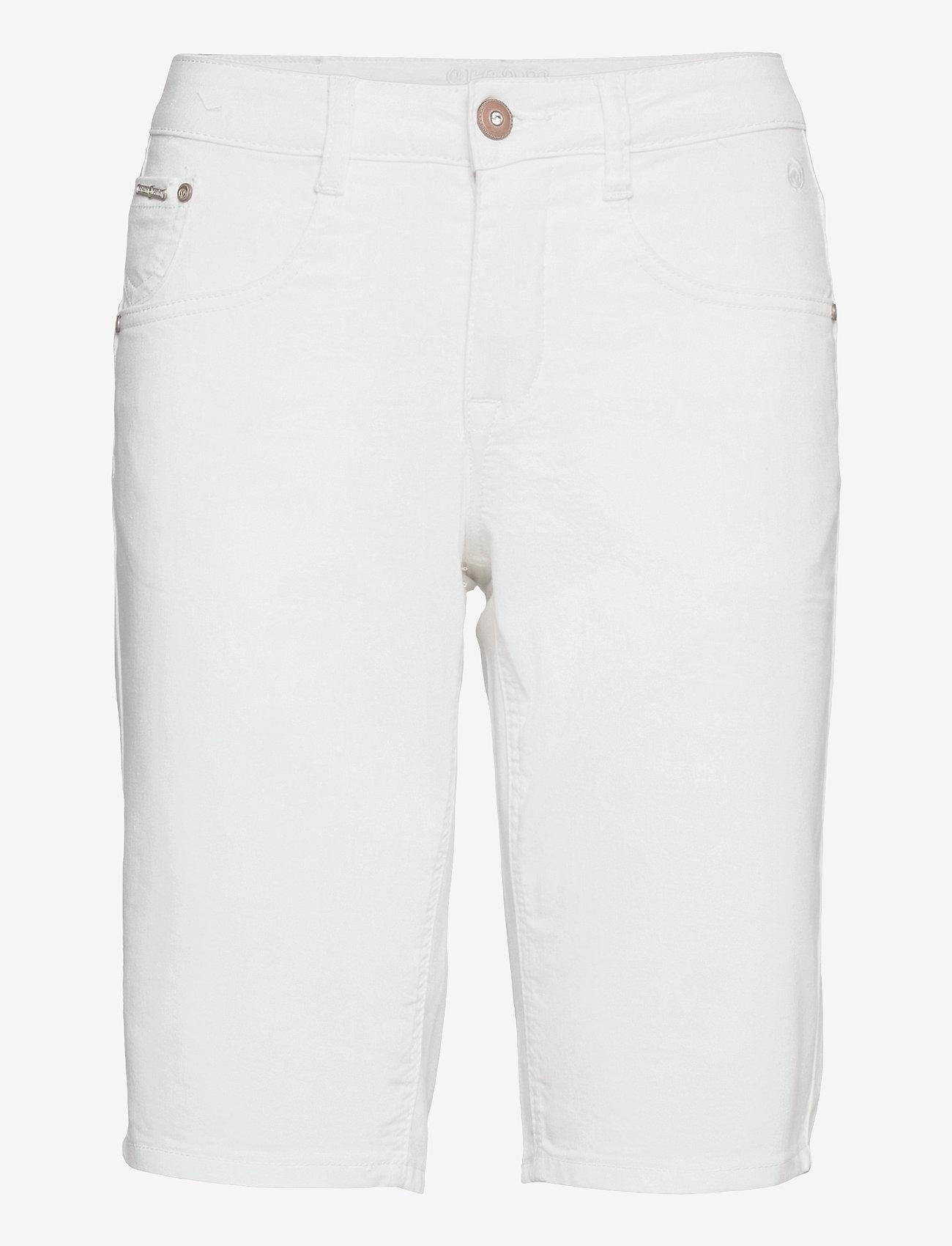 Cream - VavaCR Shorts - Coco Fit - bermudas - snow white - 0