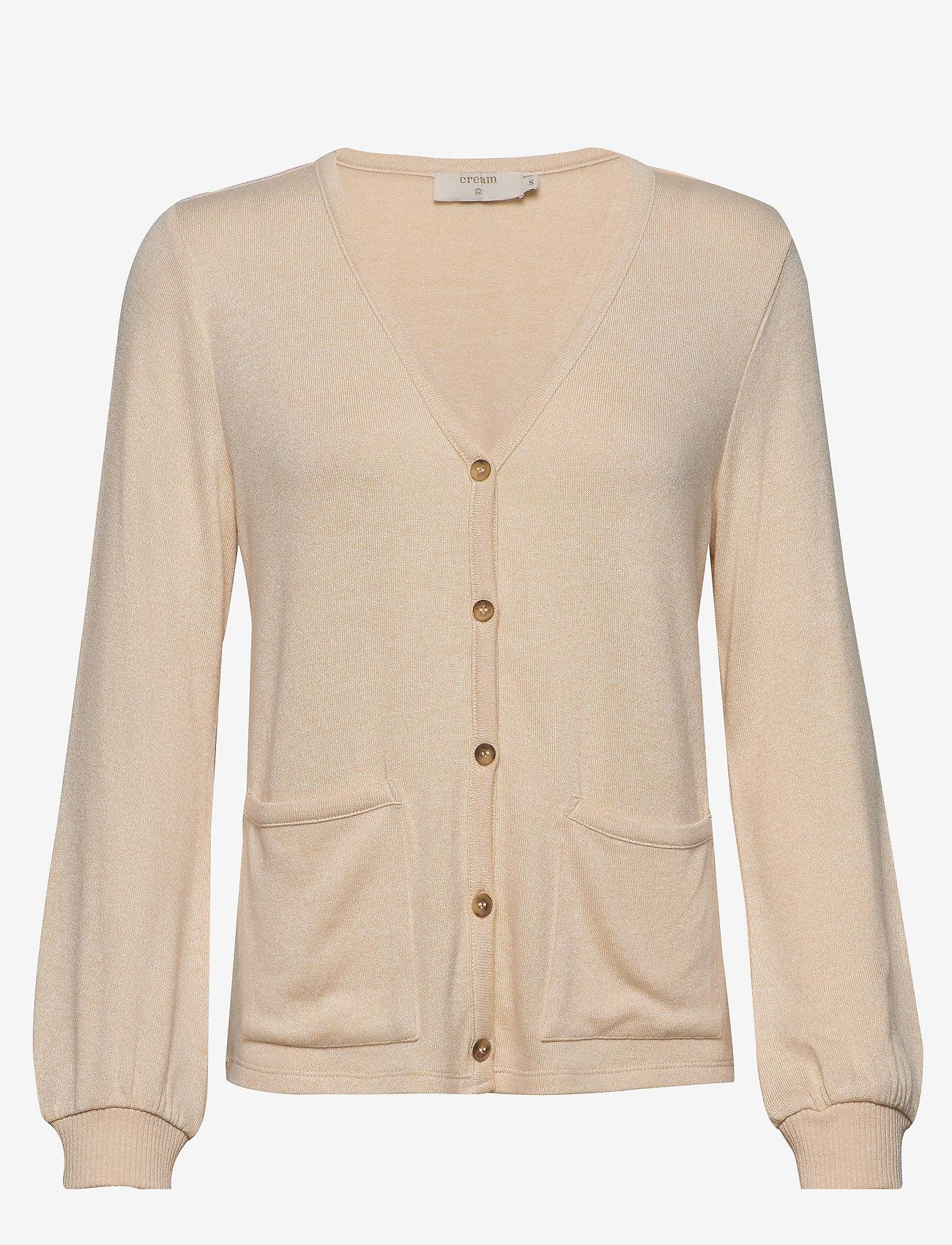 Cream - SallyCR Short Cardigan - kardigany - cream white