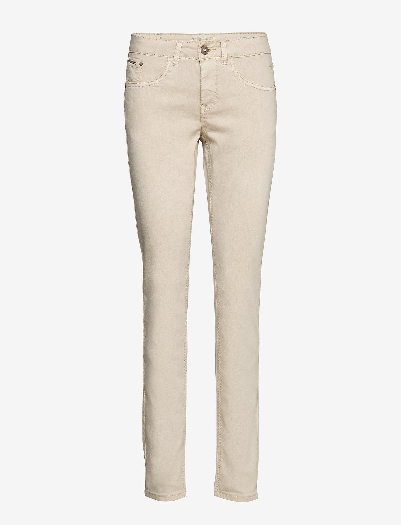 Cream - LotteCR Plain Twill - Coco Fit - skinny jeans - birch - 0