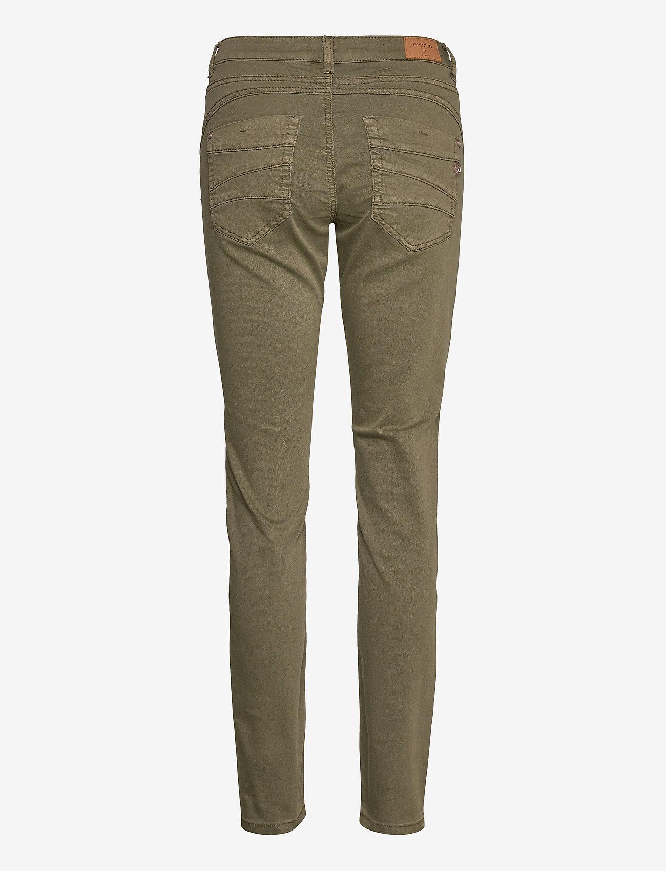 Cream - LotteCR Plain Twill - Coco Fit - skinny jeans - burnt olive - 1
