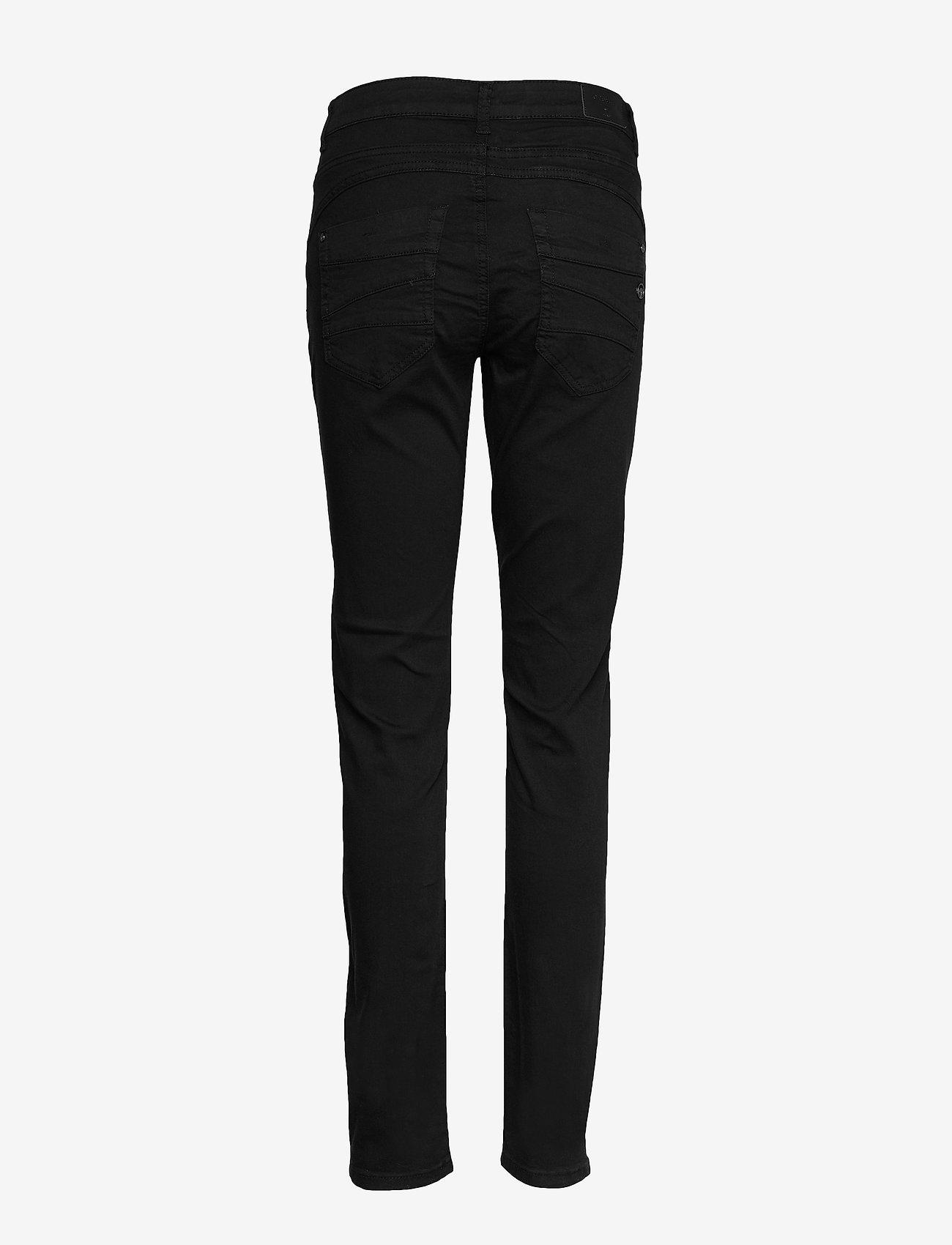Cream - LotteCR Plain Twill - Coco Fit - skinny jeans - pitch black - 1