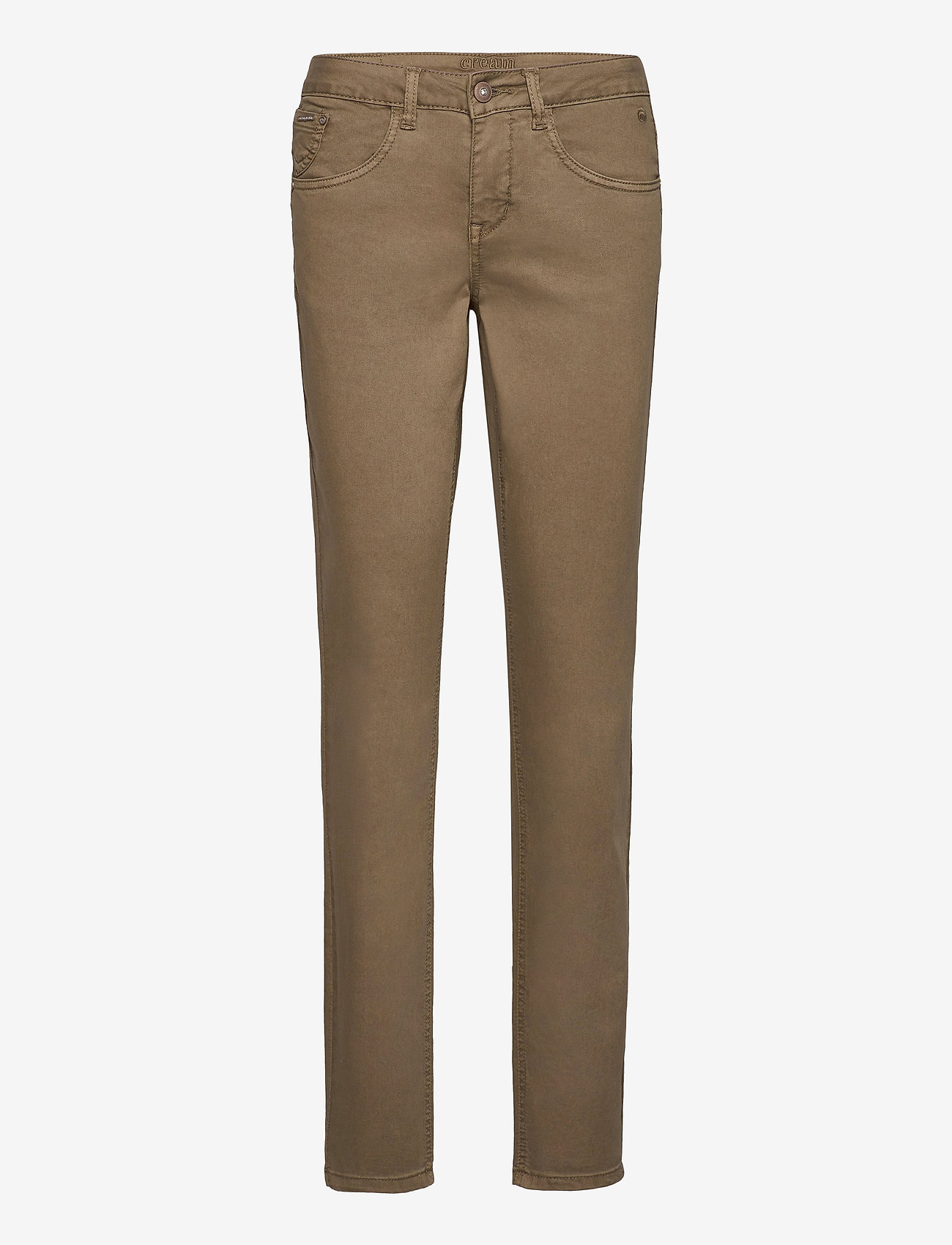Cream - LotteCR Plain Twill - Coco Fit - skinny jeans - timber wolf - 0