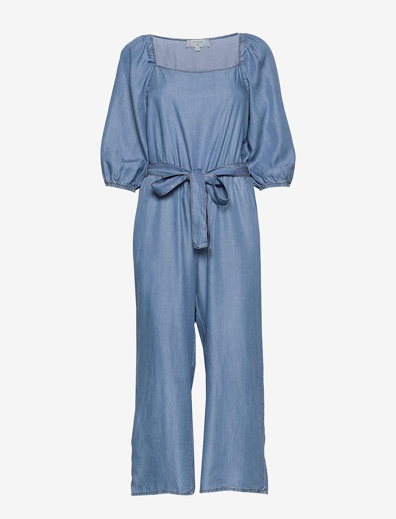 Cream - VincaCR Jumpsuit - buksedragter - blue denim - 0