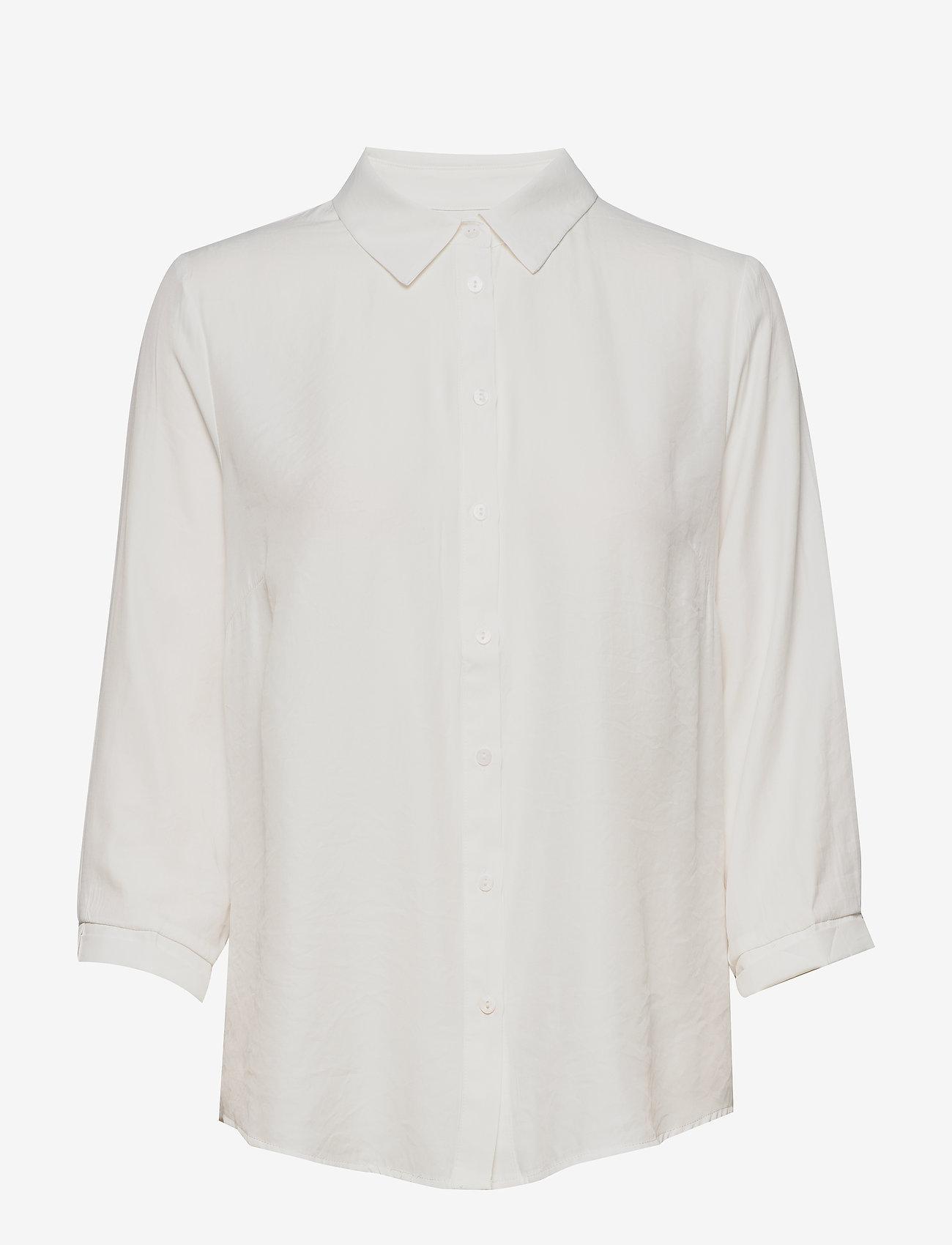 Cream - VickyCR Shirt - chemises à manches longues - snow white - 0