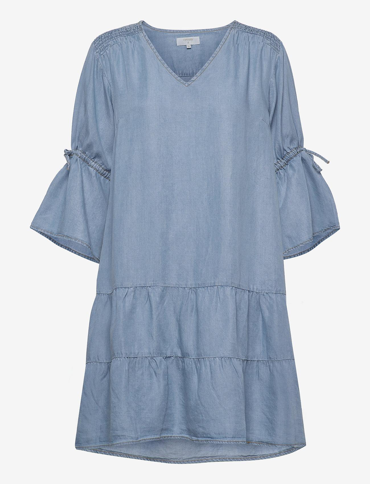 Fiecr Dress (Medium Blue Denim) (59.97 €) - Cream tC5kQ