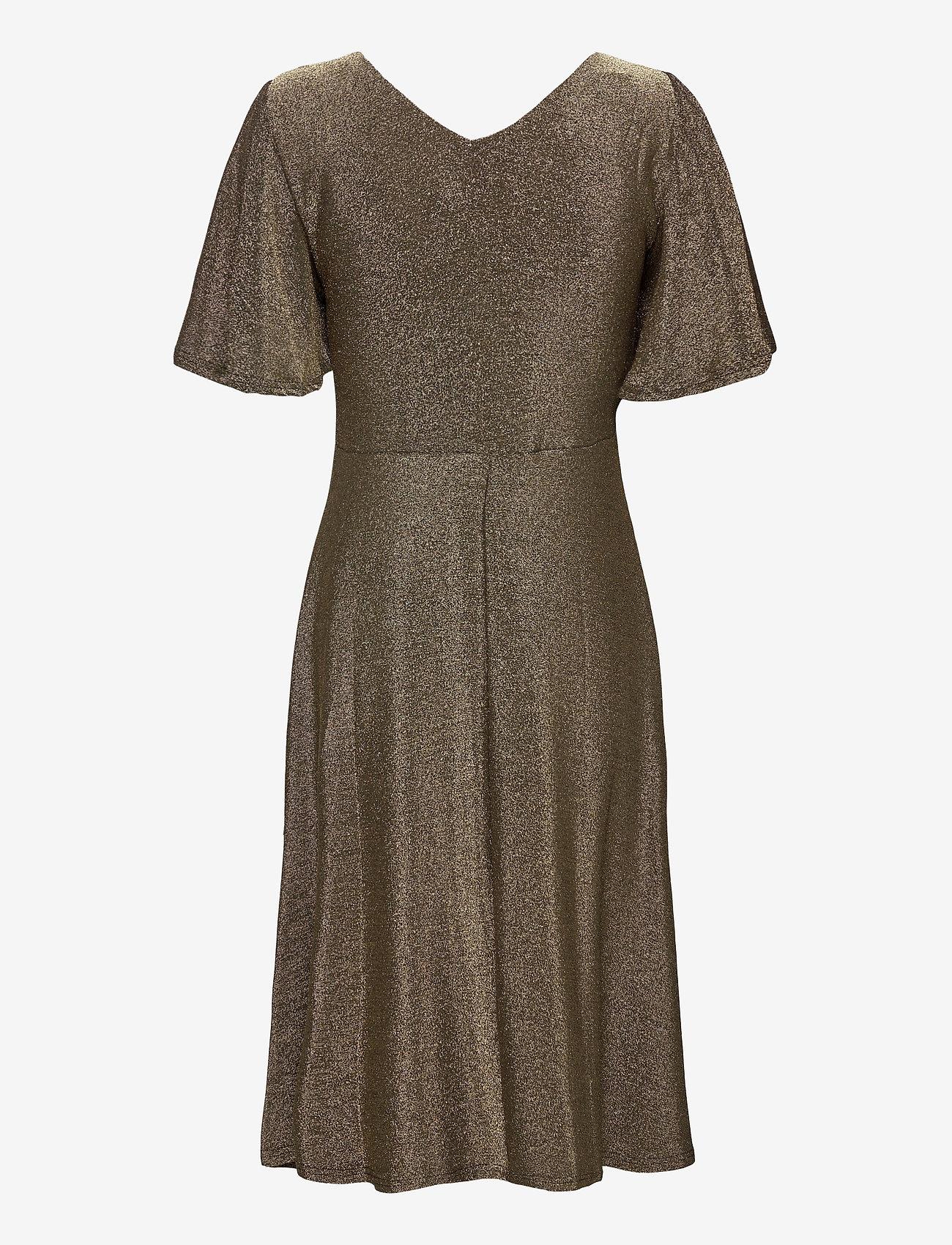 Crminu Short Dress (Gold Lurex) (89.95 €) - Cream saBGM
