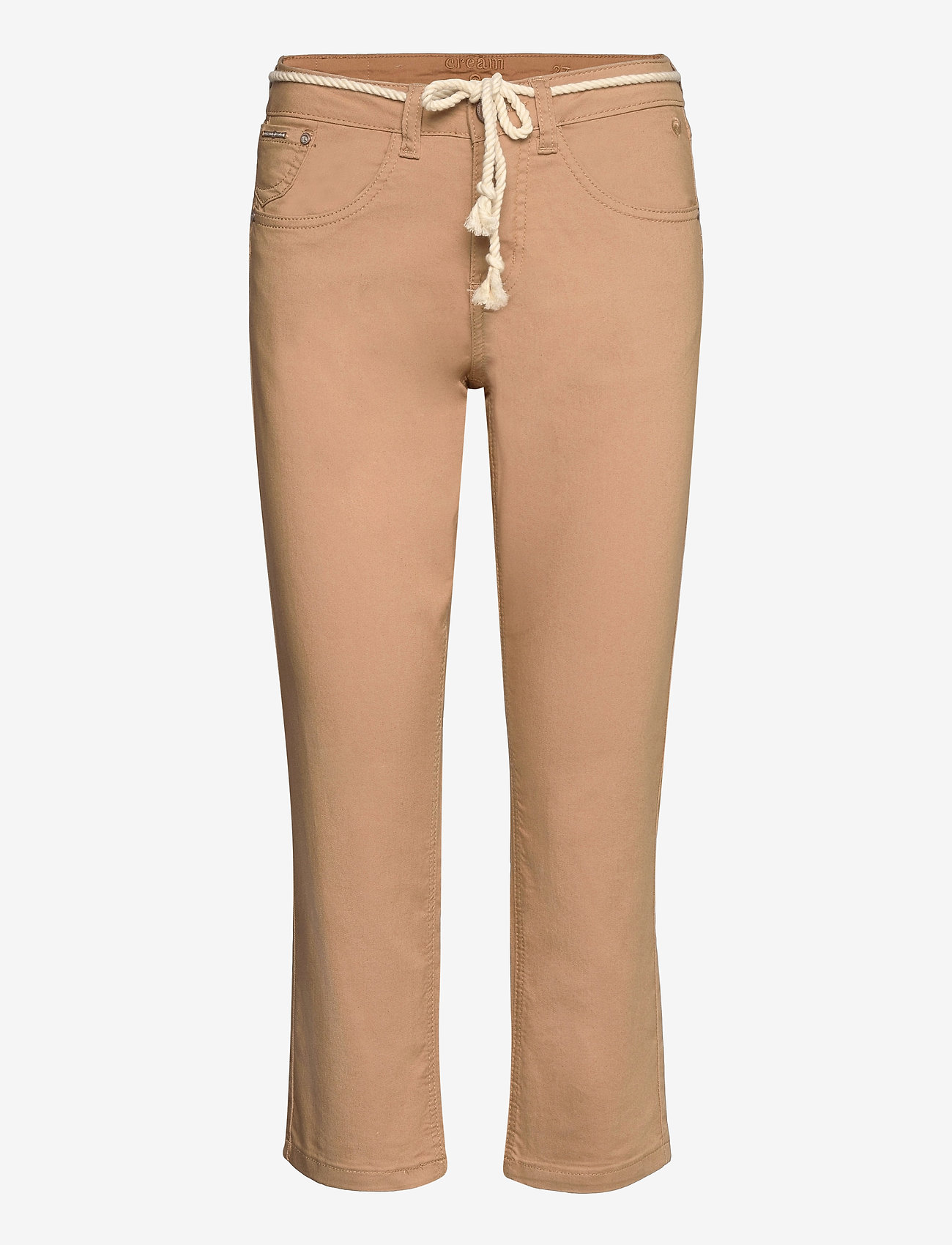 Cream - CRVava Pant 3/4 - Coco Fit - straight regular - tannin - 0