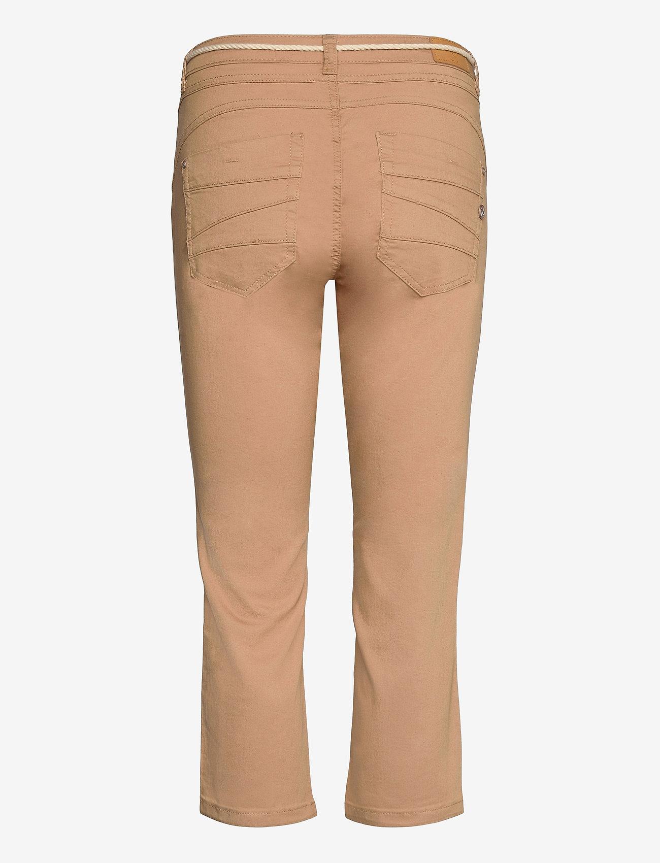 Cream - CRVava Pant 3/4 - Coco Fit - straight regular - tannin - 1