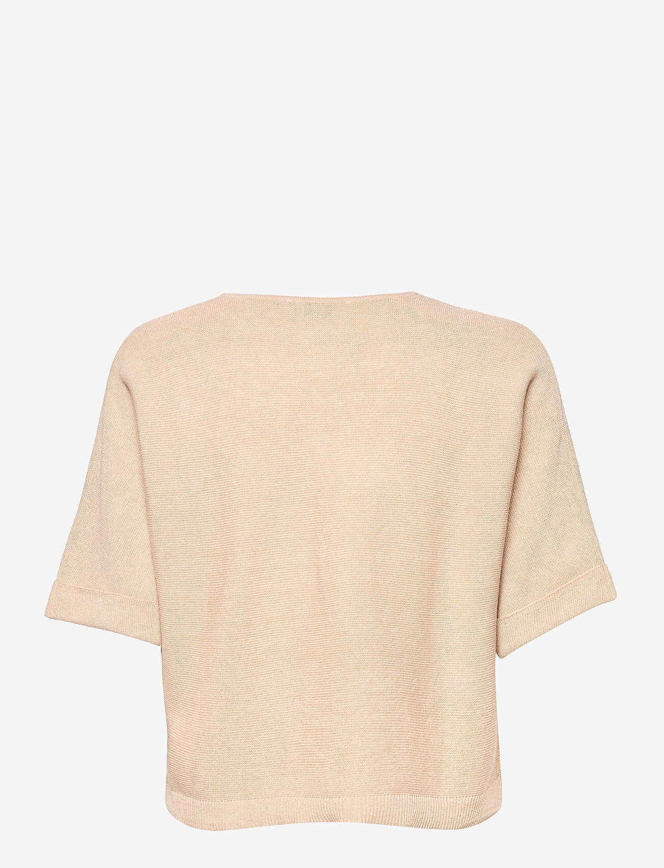 Cream - CRSillar Knit Bolero - swetry rozpinane - sesame melange - 1