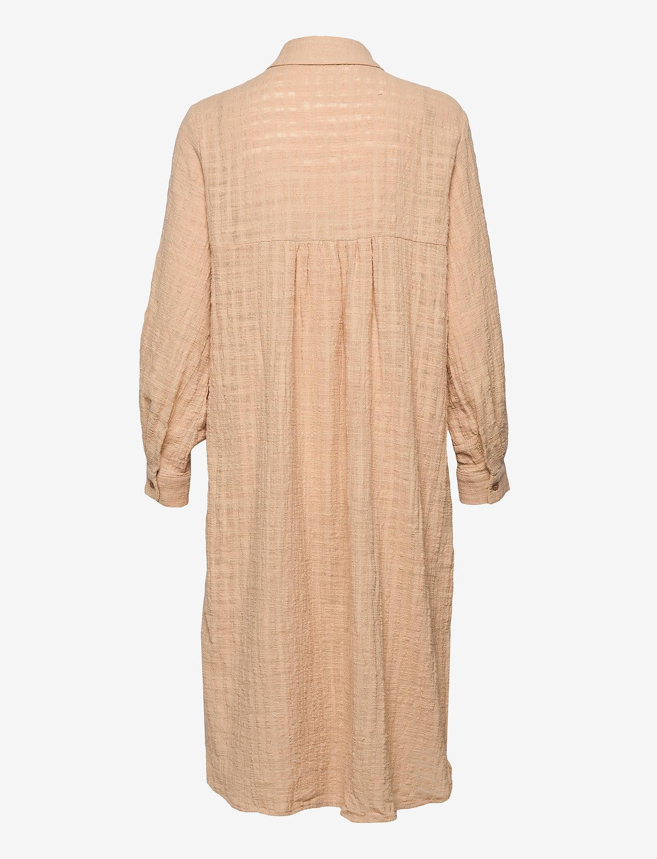 Cream - CRKirana Long Shirt - summer dresses - sesame - 1