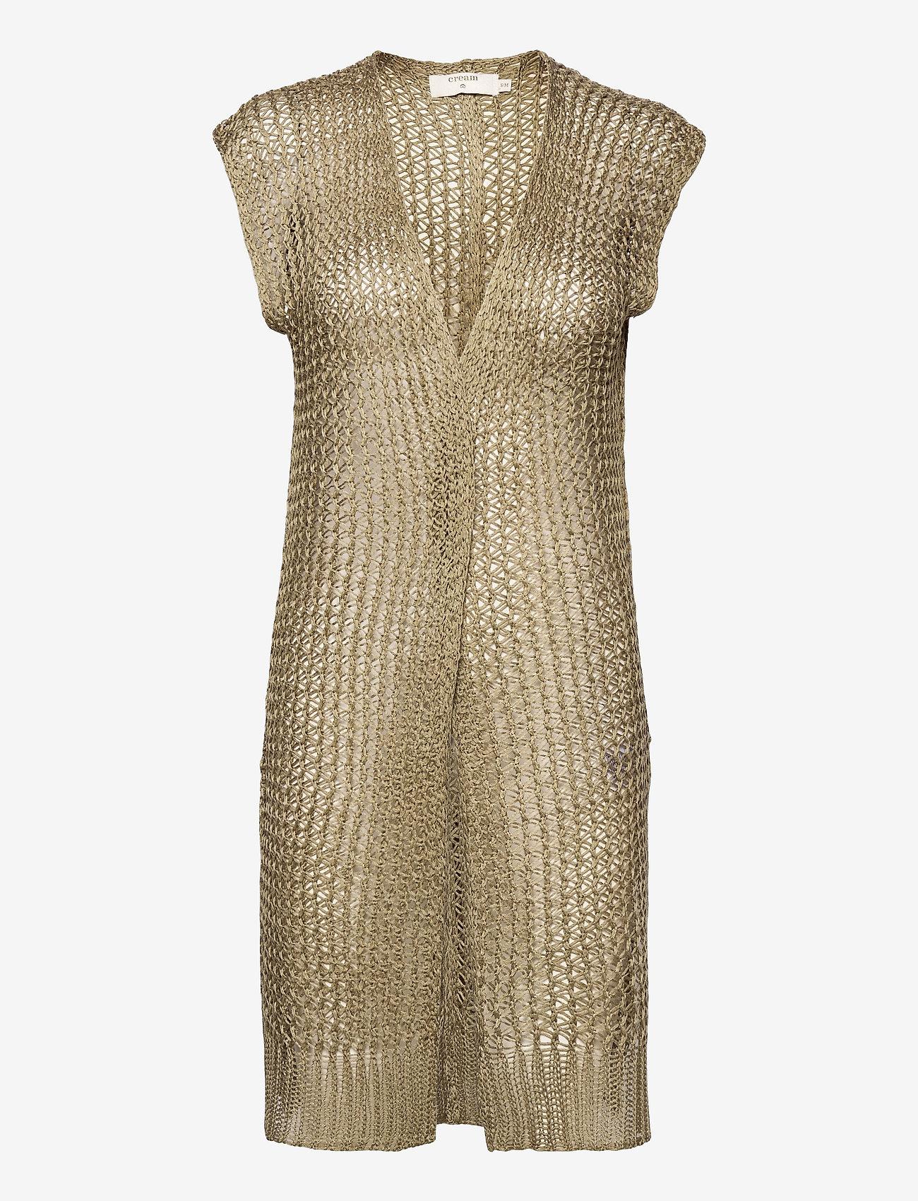 Cream - CRMugga Knit Cardigan - swetry rozpinane - mermaid - 0