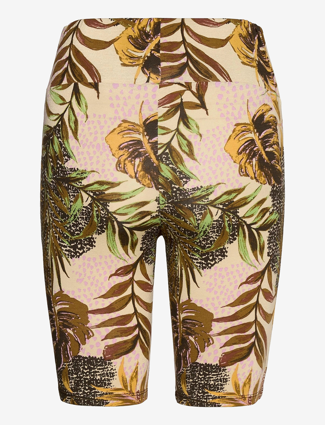 Cream - CRCindy Biker Shorts - cykelshorts - dull gold jungle - 1