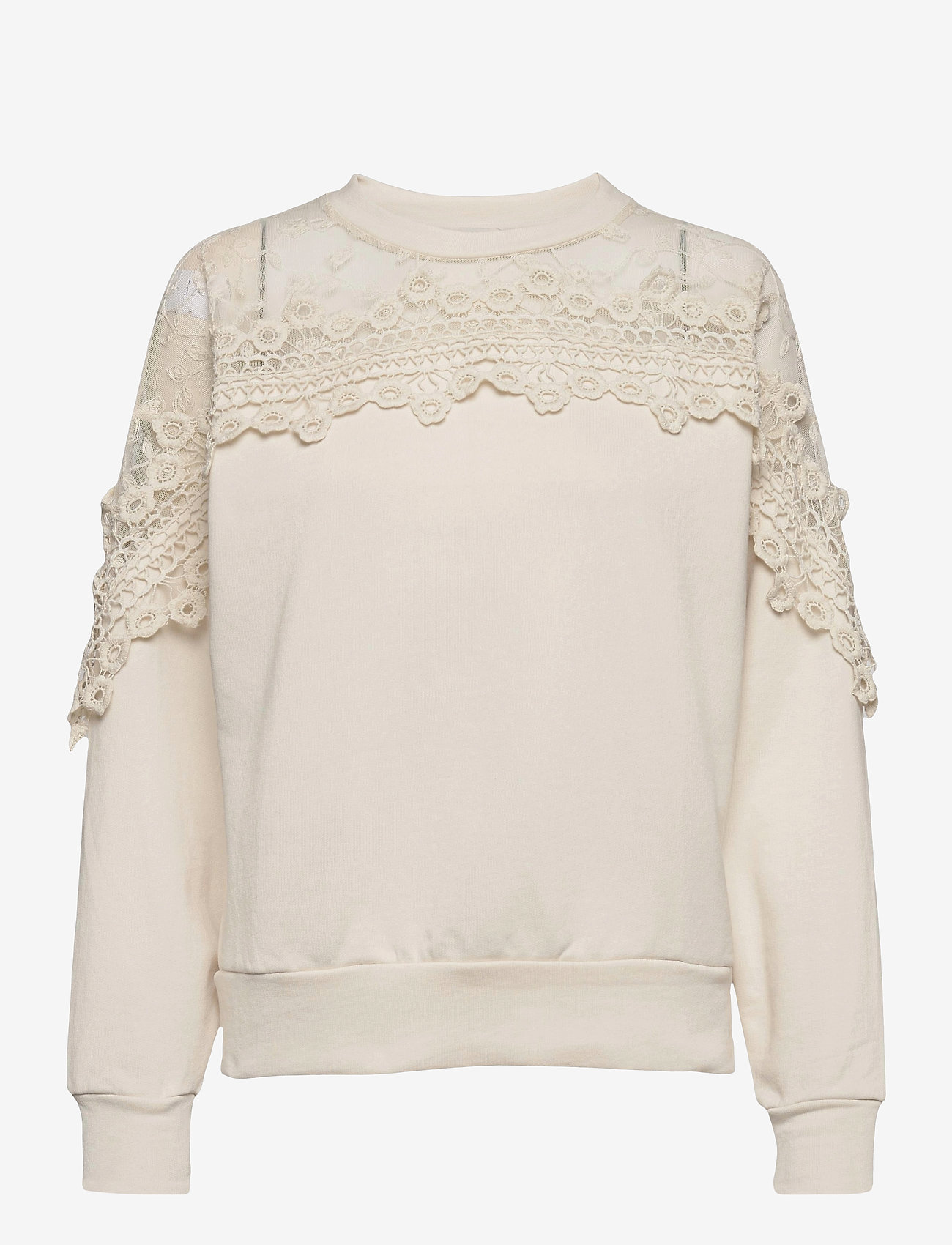 Cream - CRKalanie Sweatshirt - trøjer - eggnog - 0