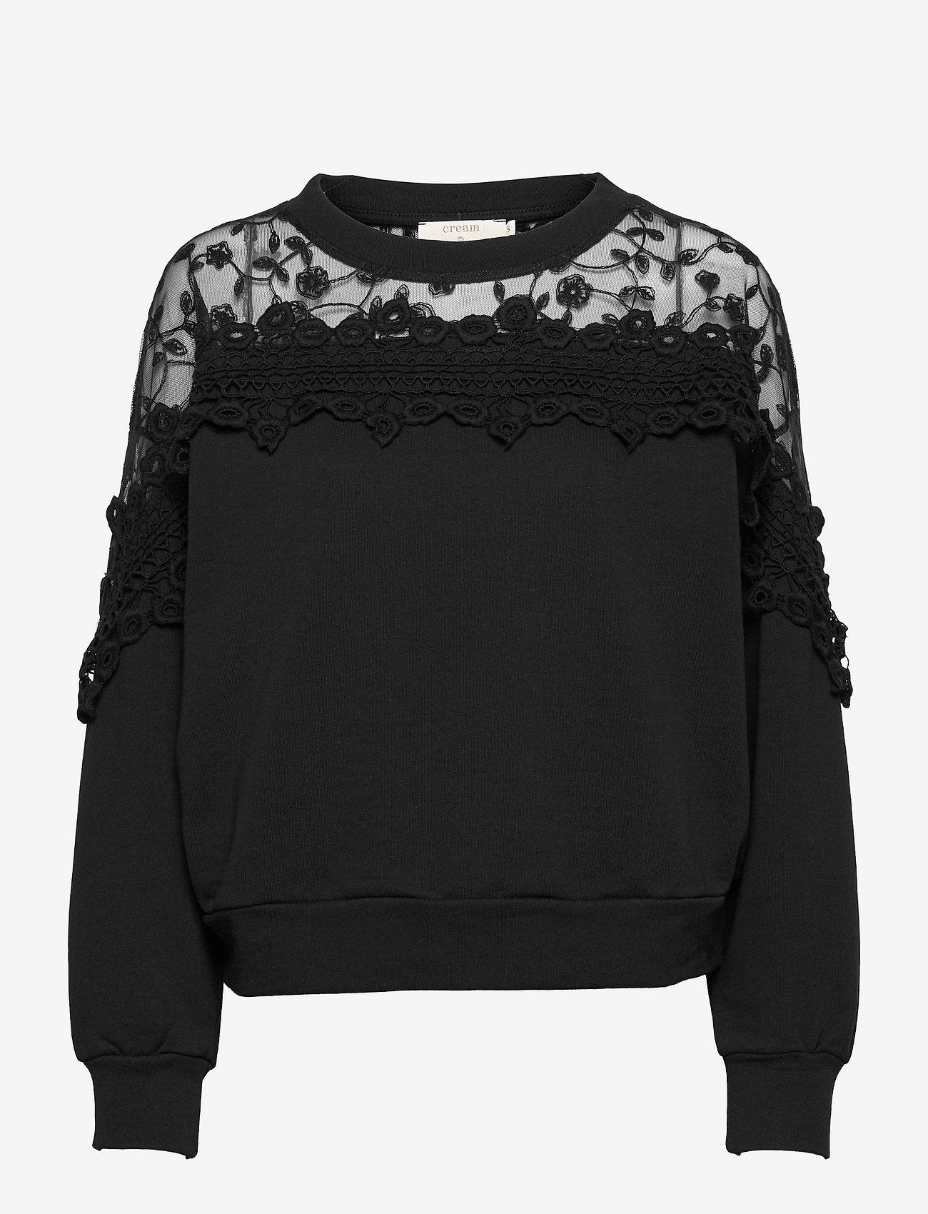 Cream - CRKalanie Sweatshirt - trøjer - pitch black - 1