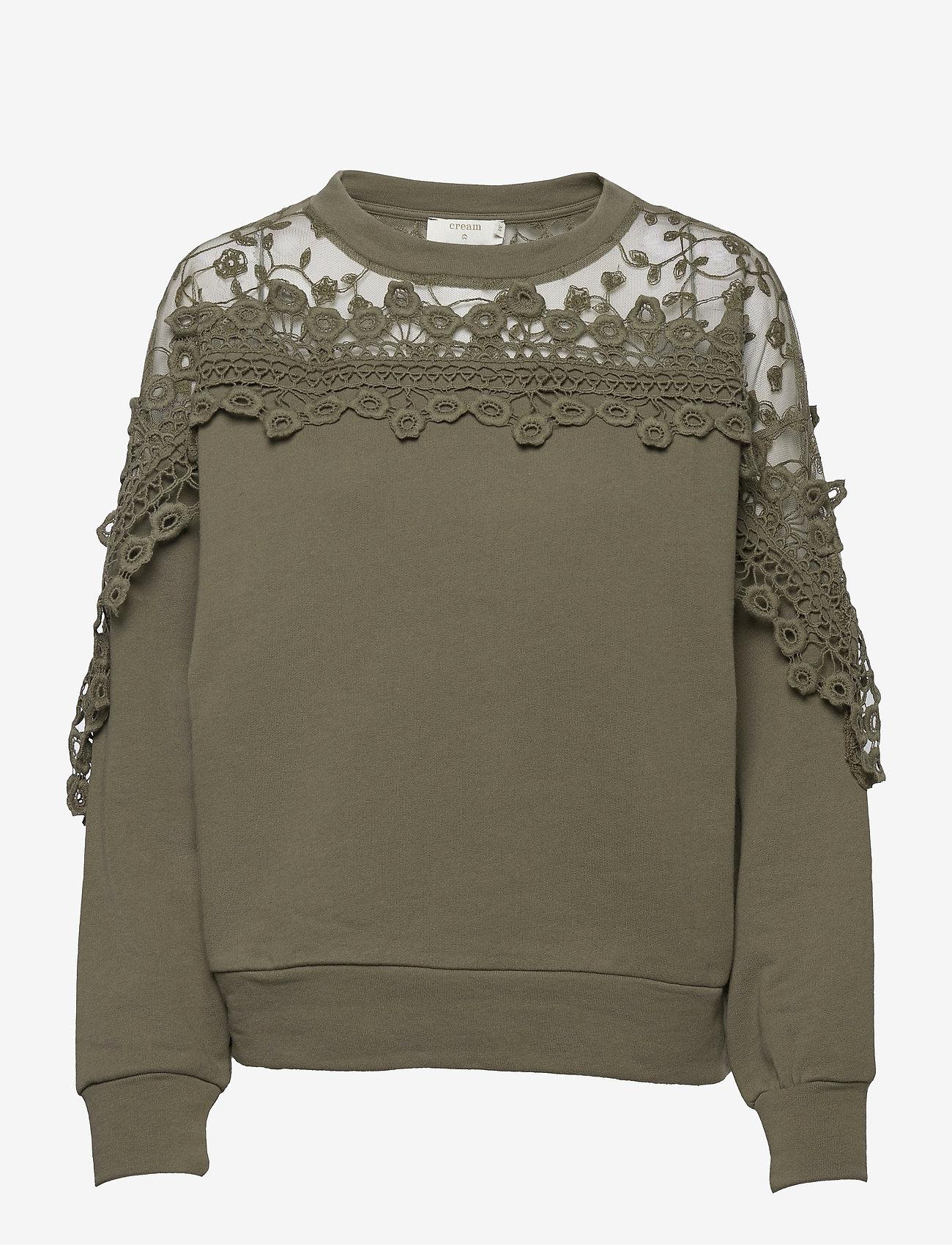 Cream - CRKalanie Sweatshirt - trøjer - sea turtle - 0