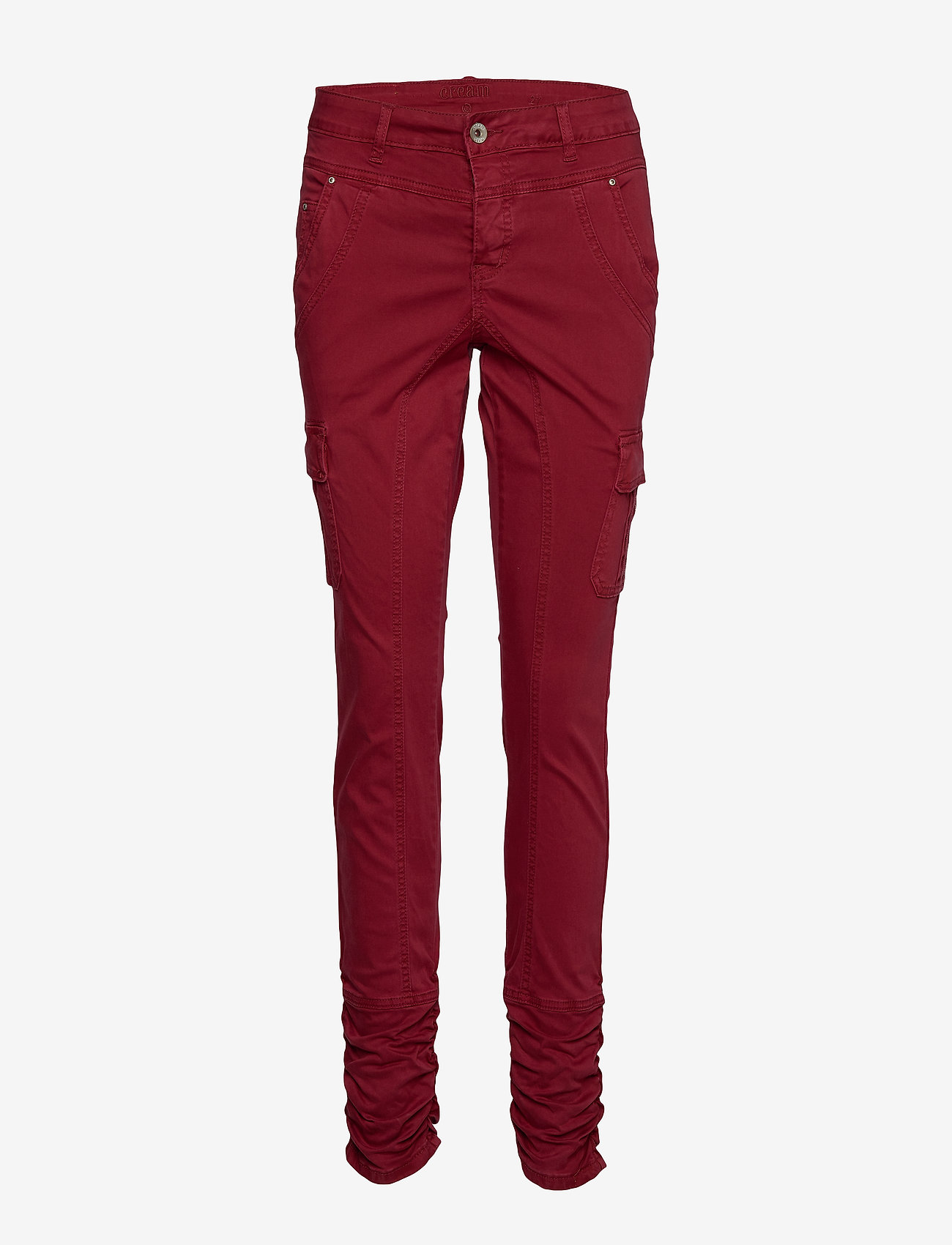 Cream - LinaCR Pants - broeken med skinny fit - merlot red - 0