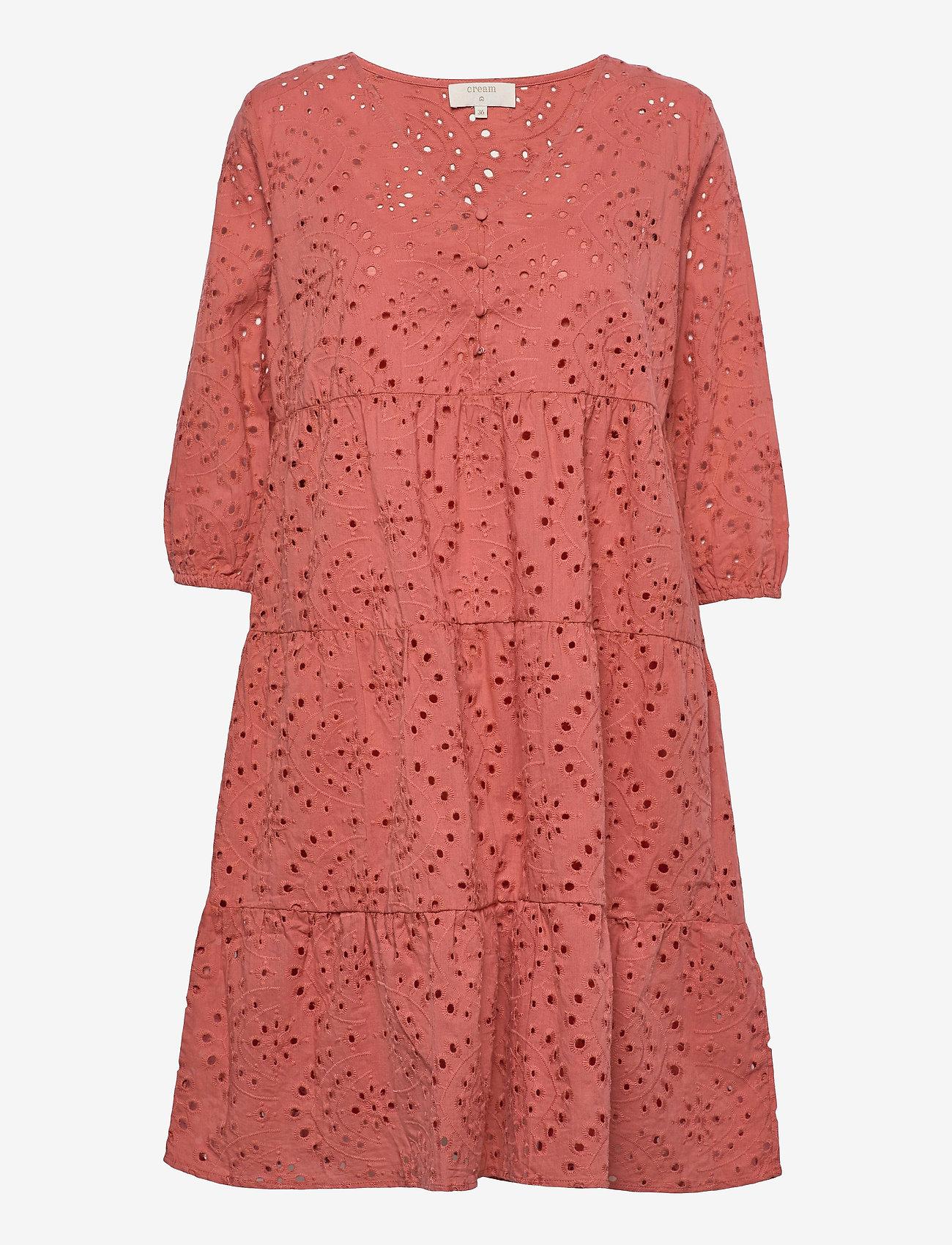 Cream - RistaCR Dress - sommerkjoler - aragon - 0