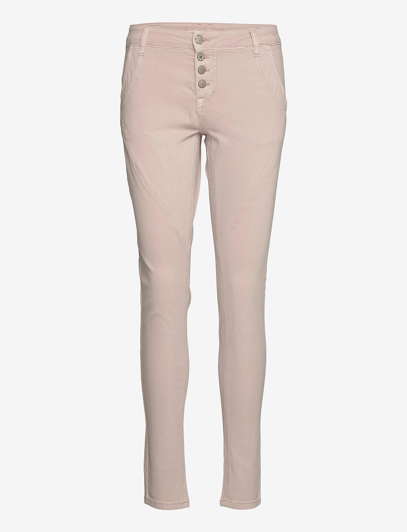 Cream - Bailey twill Pants - džinsa bikses ar šaurām starām - winter rose - 0