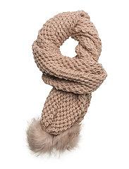 Aysa scarf - ROSE SMOKE