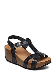 Sandry Sandal - PITCH BLACK