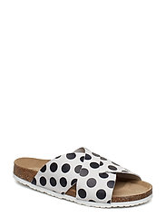 Runa sandal - CHALK