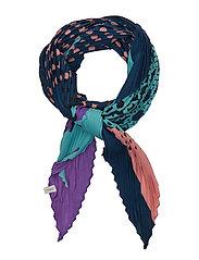 Retro scarf - DARK DENIM