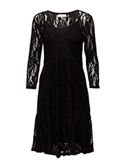 Luna Dress - PITCH BLACK