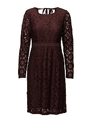 Paloma dress - CLOVE BROWN