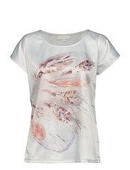 Selena T-Shirt - CHALK