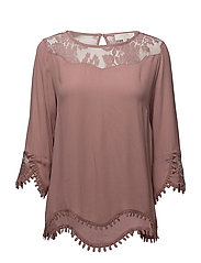 Kalanie Blouse - OLD ROSE