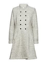 Annabell Coat - LIGHT GREY MELANGE