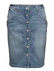 Fry Denim Skirt - SPRING BLUE DENIM