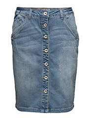Fry Denim Skirt - SPRING BLUE DENIM