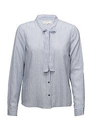 Cama striped shirt - DUSTY BLUE