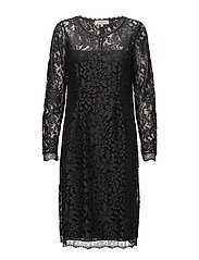 Fie Lace dress - IRON GRAY