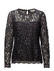 Fie Lace blouse - IRON GRAY