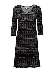 Mira Dress - PITCH BLACK
