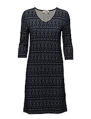 Mira Dress - ROYAL NAVY BLUE