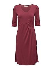 Helle Dress - TIBETAN RED