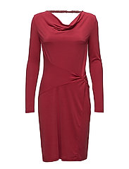 Silje LS Dress - RIO RED