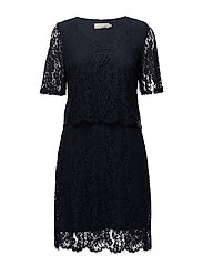 Lara Dress - ROYAL NAVY BLUE