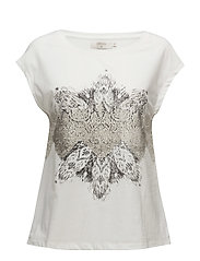 Isabella T-shirt - CHALK