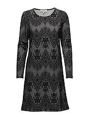 Linea dress - PITCH BLACK