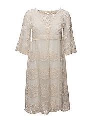 Astid Dress - CHALK