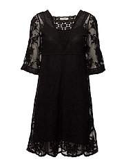 Astid Dress - PITCH BLACK